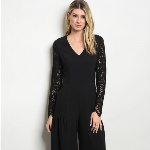 23c164e41ae Ladies Black Jumpsuit   1 piece outfit  Romper